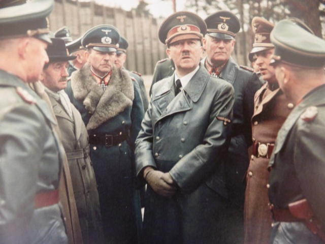 Adolf Hitler and entourage