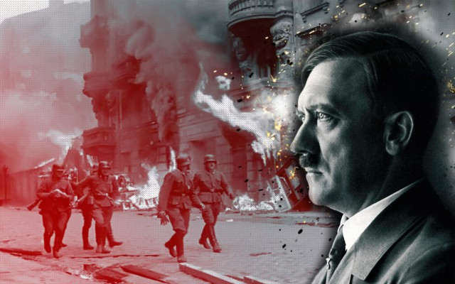 What Happened - Hitler collage