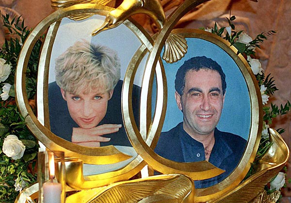 Lady Diana And Dodi Al Fayed